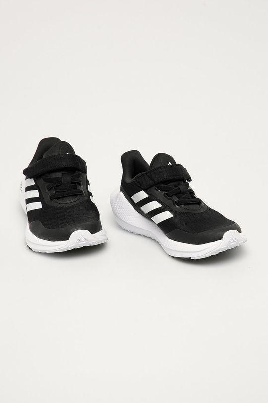 adidas Performance - Buty dziecięce EQ21 Run czarny