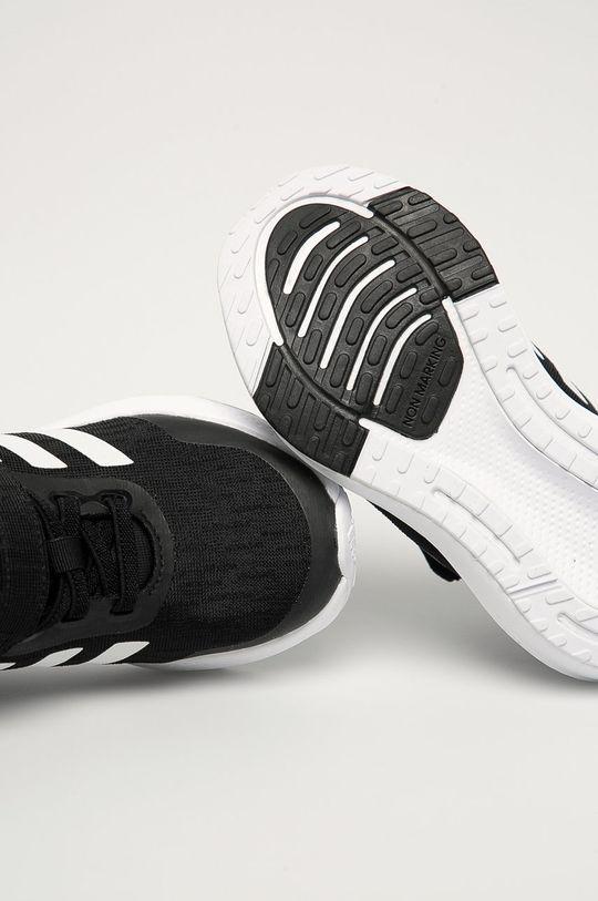 czarny adidas Performance - Buty dziecięce EQ21 Run