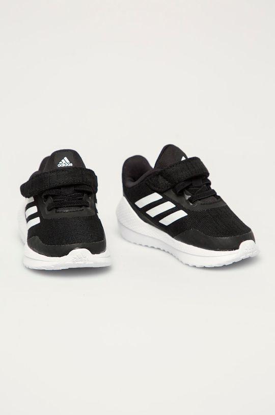 adidas Performance - Buty dziecięce Run El I czarny
