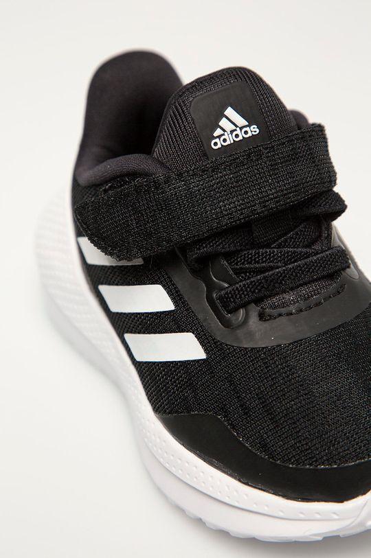 czarny adidas Performance - Buty dziecięce Run El I