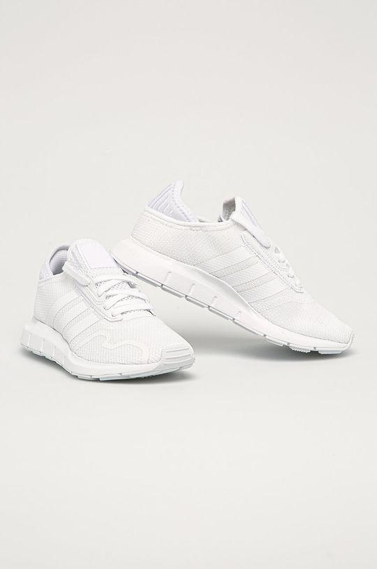 adidas Originals - Buty dziecięce Swift Run X biały