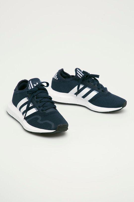 adidas Originals - Buty dziecięce Swift Run X granatowy