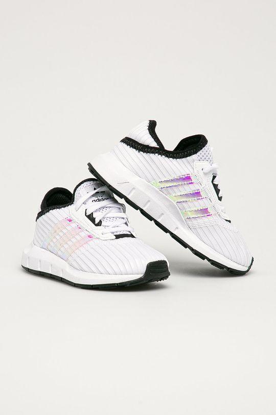 adidas Originals - Detské topánky Swift Run X C biela