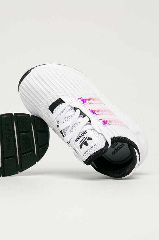 biela adidas Originals - Detské topánky Swift Run X C