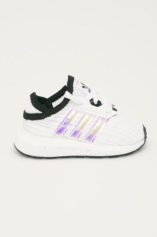 bílá adidas Originals - Dětské boty Swift Run X Dětský