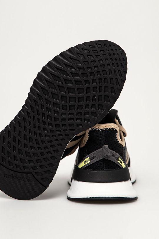 černá adidas Originals - Dětské boty Path Run