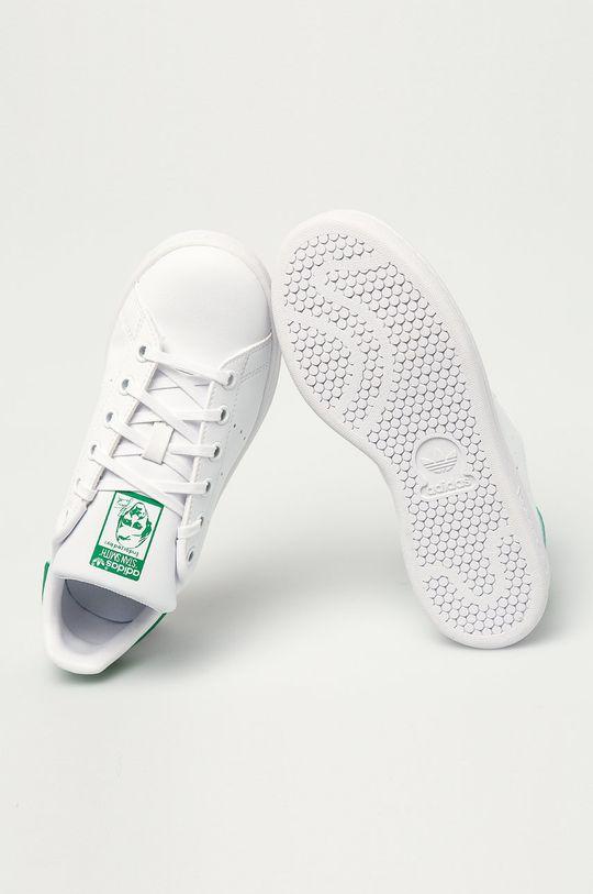 biały adidas Originals - Buty dziecięce Stan Smith