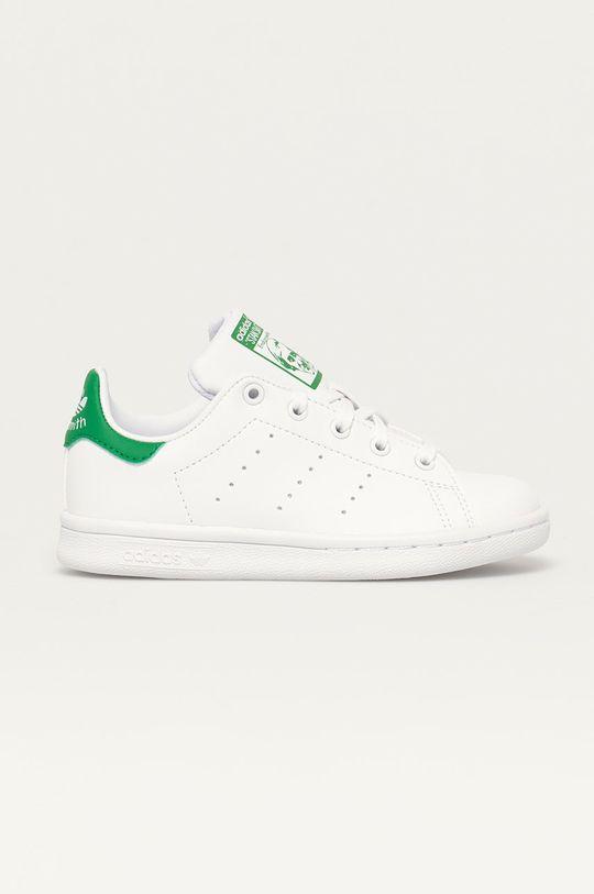 biały adidas Originals - Buty dziecięce STAN SMITH Dziecięcy