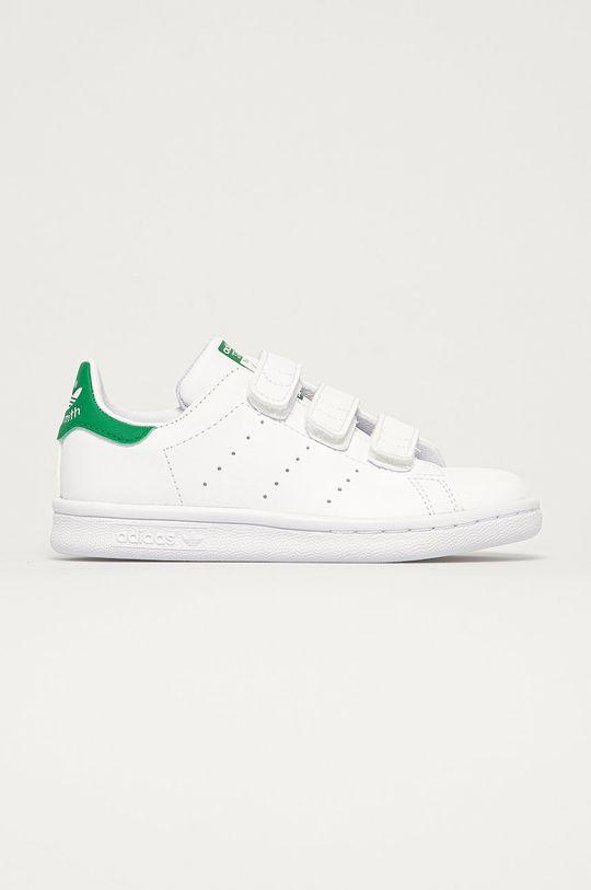 biały adidas Originals - Buty dziecięce Stan Smith CF Dziecięcy