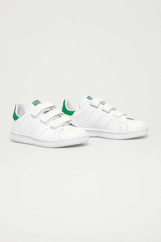 adidas Originals - Buty dziecięce Stan Smith CF biały