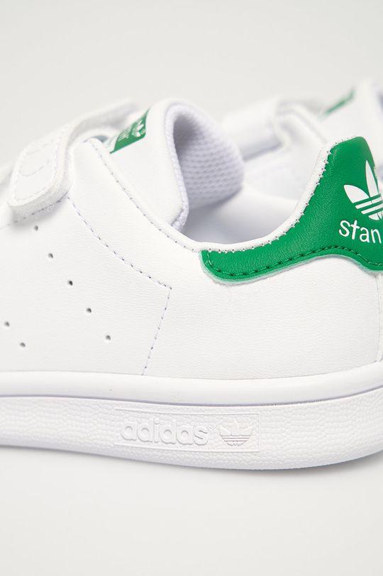adidas Originals - Buty dziecięce Stan Smith CF Cholewka: Materiał syntetyczny, Wnętrze: Materiał syntetyczny, Materiał tekstylny, Podeszwa: Materiał syntetyczny