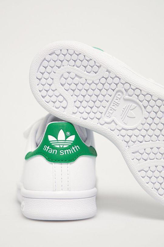 biały adidas Originals - Buty dziecięce Stan Smith CF