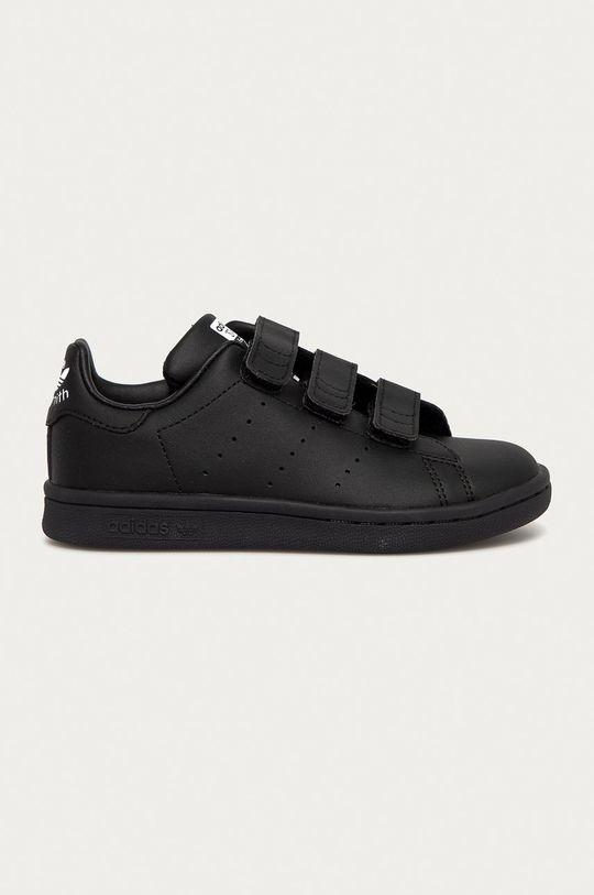 czarny adidas Originals - Buty dziecięce STAN SMITH Dziecięcy