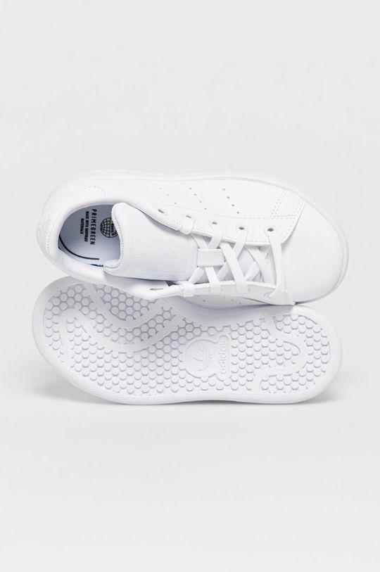biały adidas Originals - Buty dziecięce