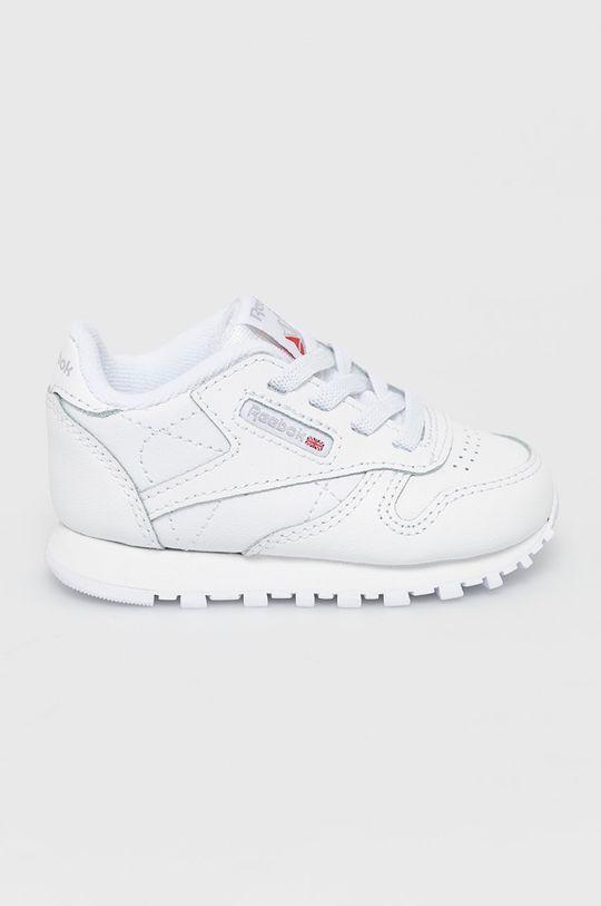 biały Reebok Classic - Buty dziecięce CL LTHR Dziecięcy