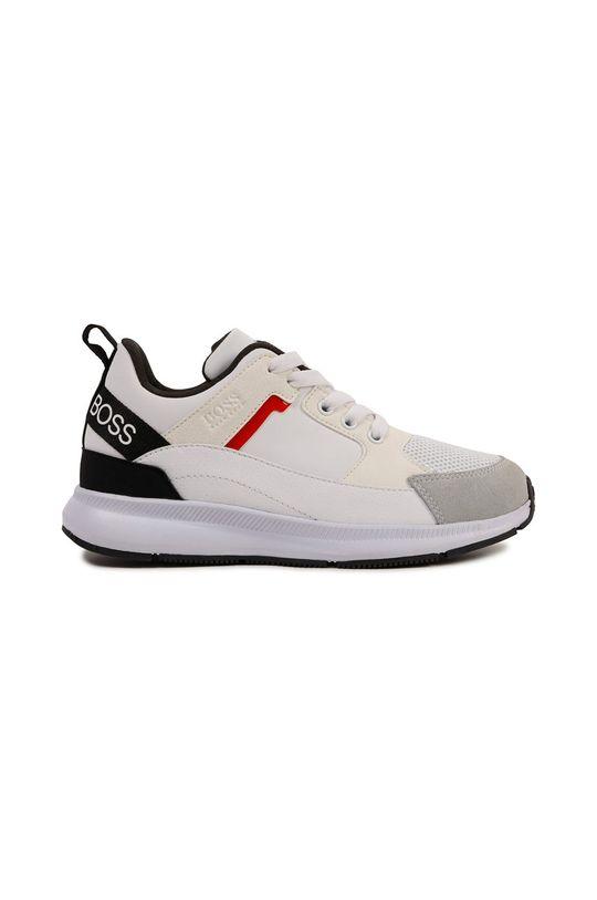 Boss - Dětské boty bílá