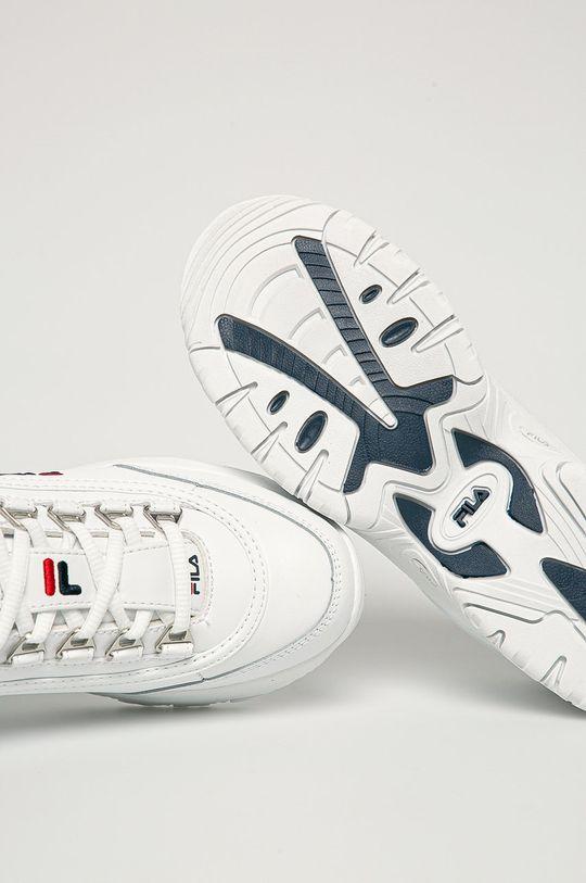 biały Fila - Buty dziecięce Strada Low