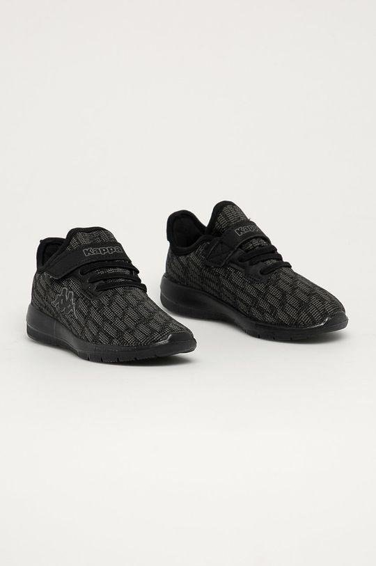 Kappa - Dětské boty Gizeh černá