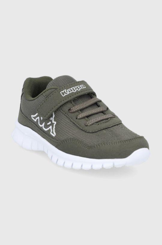 Kappa - Dětské boty Follow zelená