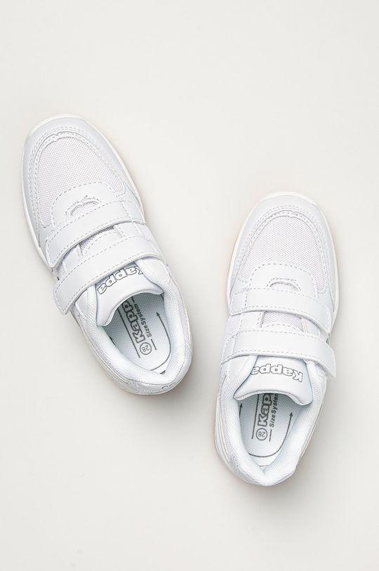 biela Kappa - Detské topánky Dacer