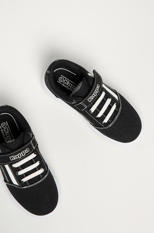 černá Kappa - Dětské boty Chose Sun