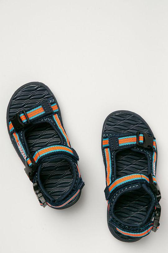 námořnická modř Kappa - Dětské sandály Rusheen