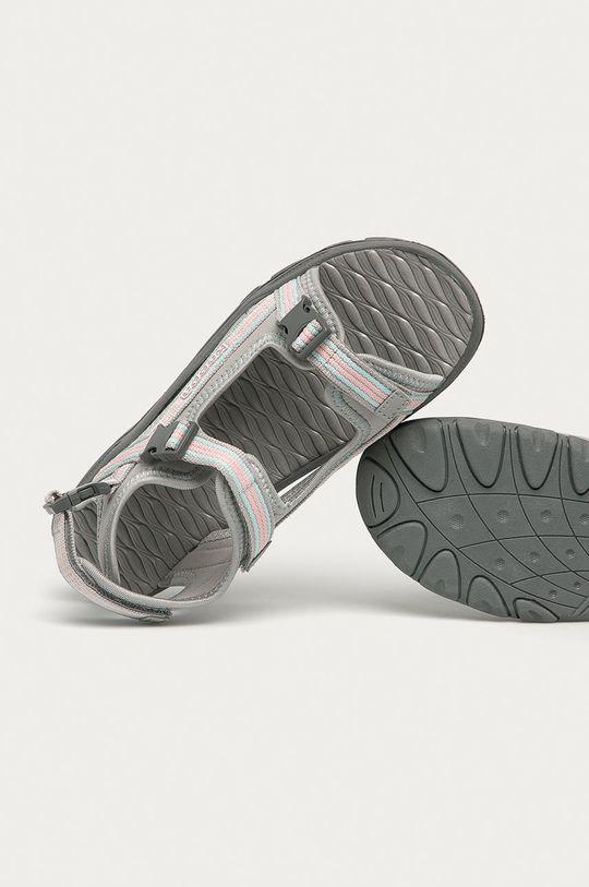 světle šedá Kappa - Dětské sandály Rusheen