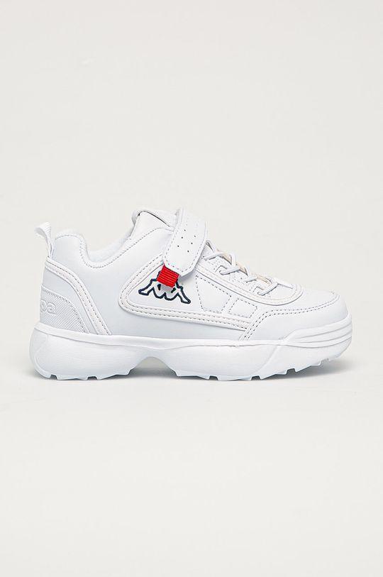 biały Kappa - Buty dziecięce Dziecięcy