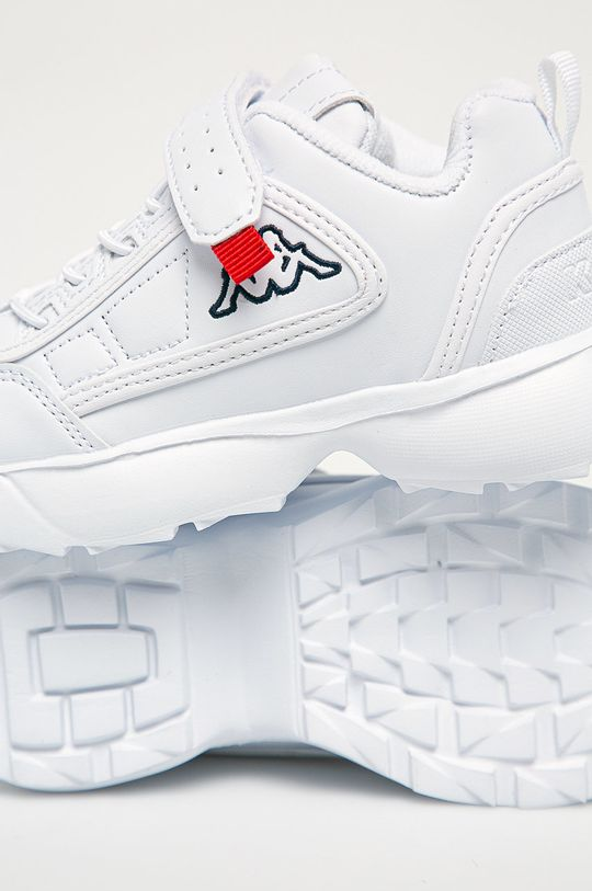 biały Kappa - Buty dziecięce
