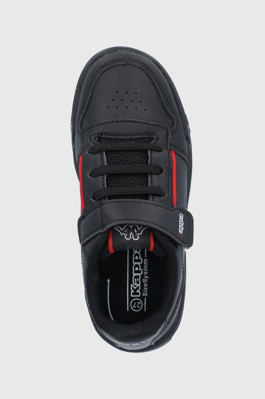 čierna Kappa - Detské topánky Marabu II