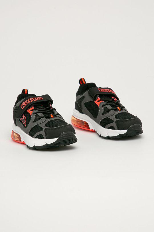 Kappa - Dětské boty Yero černá