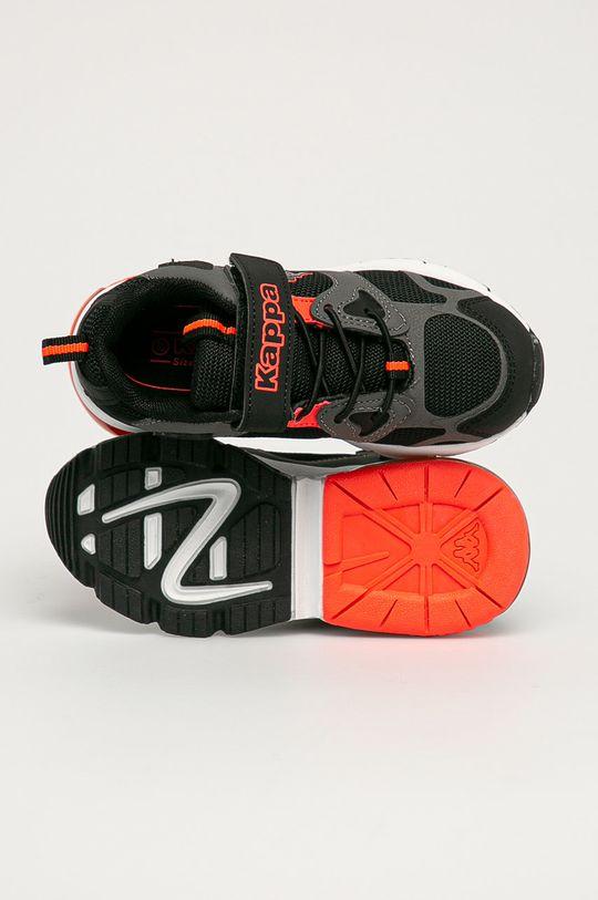 černá Kappa - Dětské boty Yero