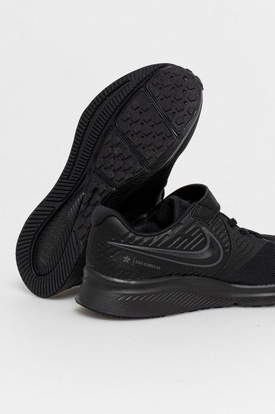 Nike Kids - Buty dziecięce Star Runner 2 Cholewka: Materiał syntetyczny, Materiał tekstylny, Skóra naturalna, Wnętrze: Materiał tekstylny, Podeszwa: Materiał syntetyczny