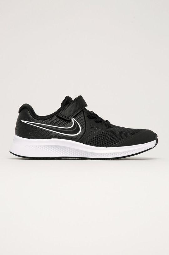 čierna Nike Kids - Detské topánky Star Runner 2 Detský