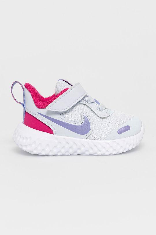 světle šedá Nike Kids - Dětské boty Revolution 5 Dětský