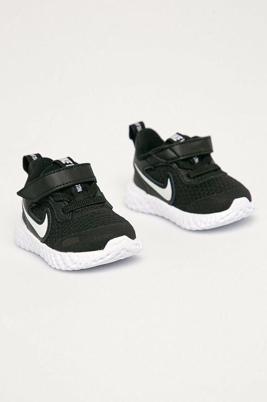 Nike Kids - Buty dziecięce Revolution 5 czarny