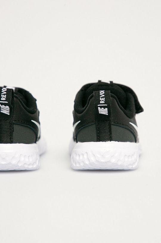 Nike Kids - Buty dziecięce Revolution 5 Cholewka: Materiał tekstylny, Skóra naturalna, Wnętrze: Materiał tekstylny, Podeszwa: Materiał syntetyczny