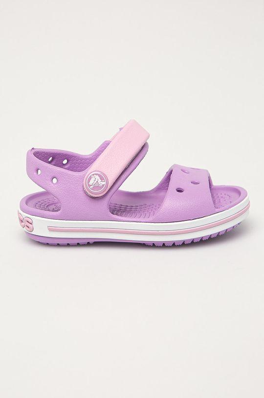 fialová Crocs - Dětské sandály Dětský