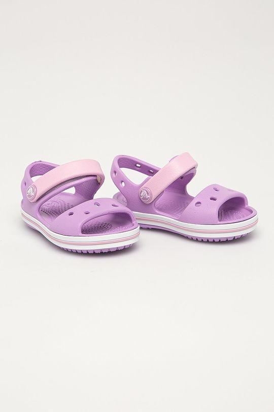 Crocs - Dětské sandály fialová