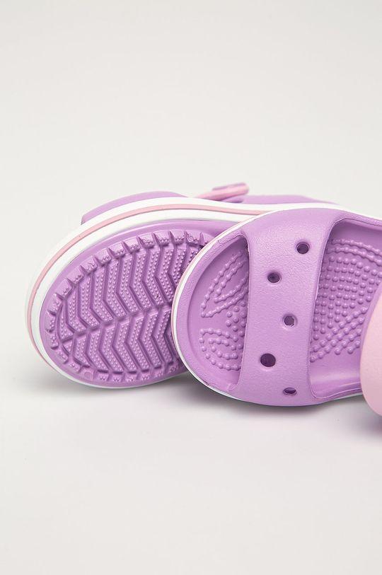 fialová Crocs - Dětské sandály