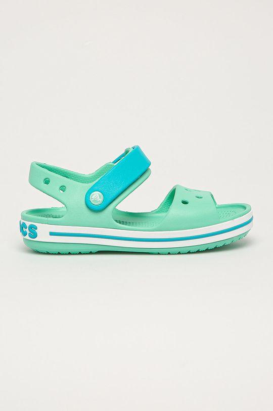 světle tyrkysová Crocs - Dětské sandály Dětský