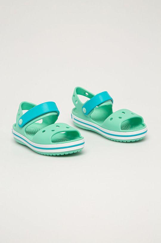 Crocs - Dětské sandály světle tyrkysová