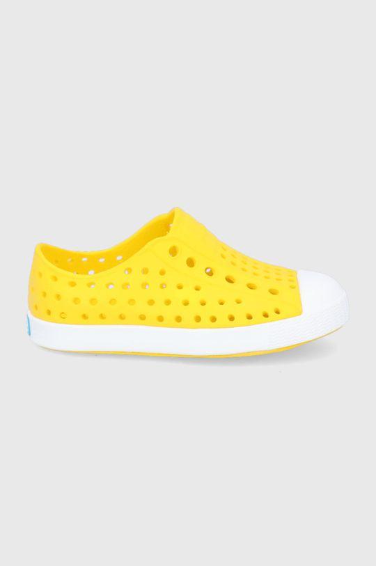 żółty Native - Tenisówki dziecięce Jefferson Dziecięcy