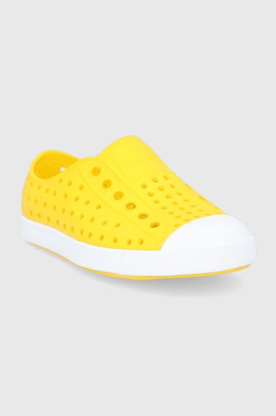 Native - Tenisówki dziecięce Jefferson żółty