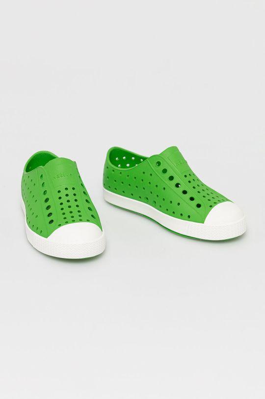 Native - Tenisówki dziecięce Jefferson zielony