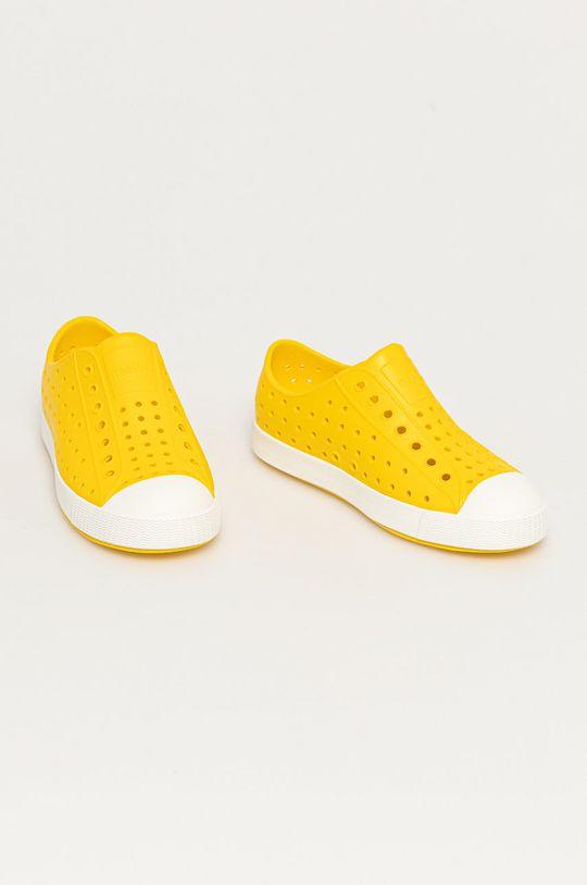 Native - Tenisówki dziecięce żółty