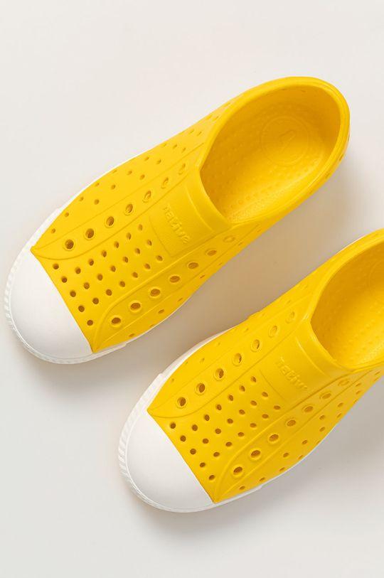 żółty Native - Tenisówki dziecięce