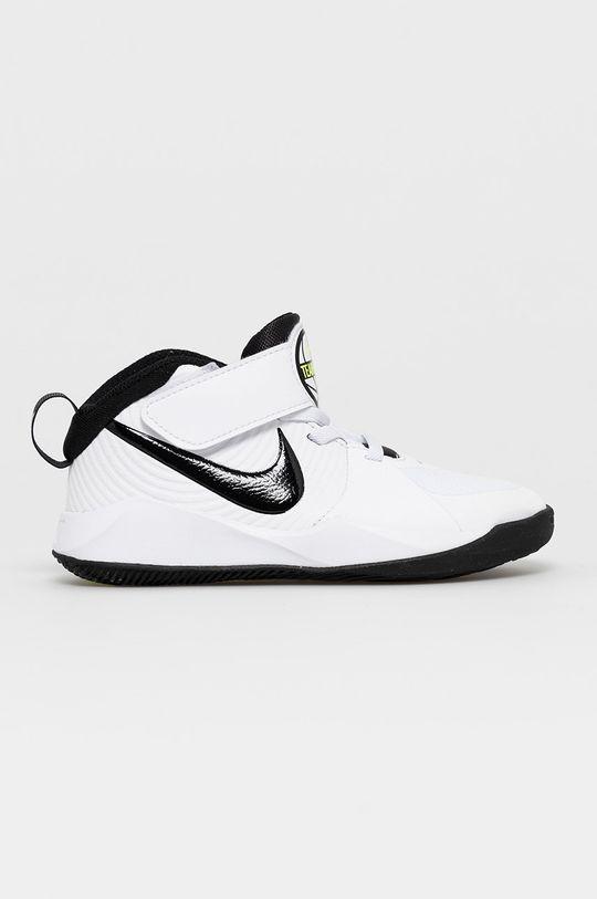 alb Nike Kids - Pantofi copii Team Hustle D 9 De copii