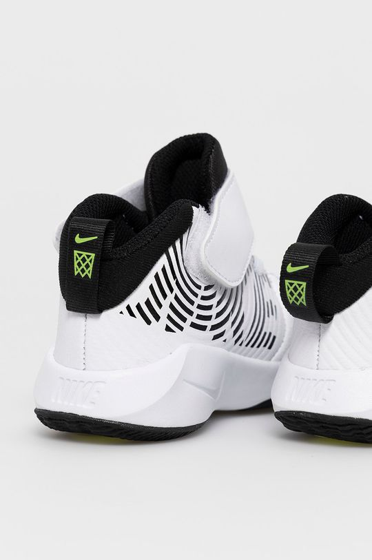 Nike Kids - Pantofi copii Team Hustle D 9  Gamba: Material textil, Piele naturala Interiorul: Material textil Talpa: Material sintetic