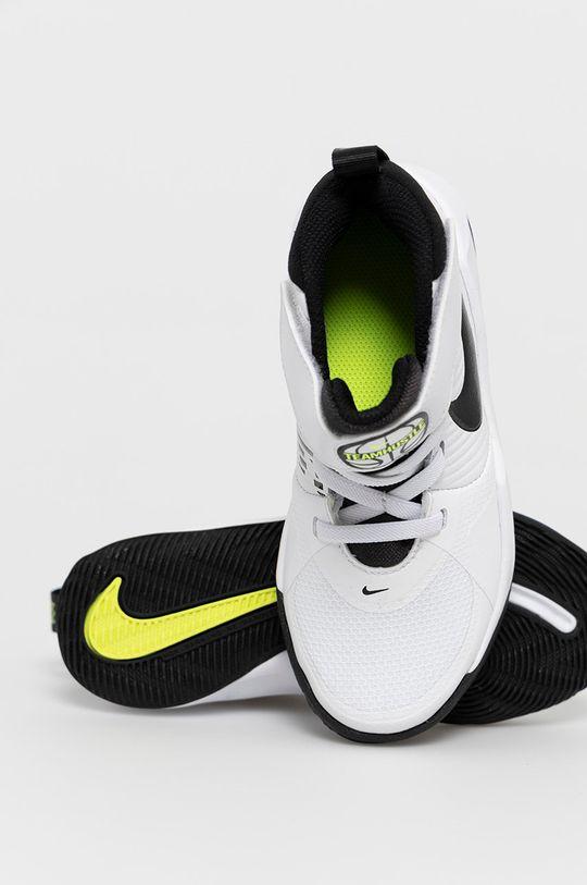 alb Nike Kids - Pantofi copii Team Hustle D 9